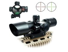 2.5-10 x 40 Scope with Red Laser Sight