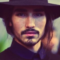 fabulouswillycartier:  Willy Cartier for AMI Alexandre Mattiussi ss14 | @Nicolas Kohout, character inspiration