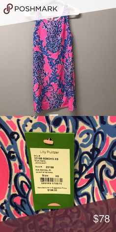 Lilly Pulitzer Jackie Shift - Caught In The Coral NWT Lilly Pulitzer Dresses