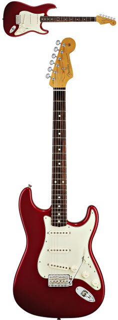 Fender® 60'S Stratocaster® Candy Apple Red - it will be mine oh yes... It will be mine.
