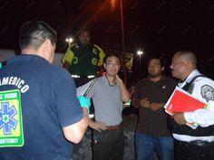 Bolsas de aire de vehículo salvan a conductor en volcadura   Info7   Nuevo León