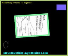 Woodworking Patterns For Beginners 092559 - Woodworking Plans and Projects!