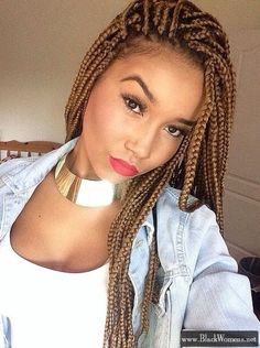 135+ Afro-American hair braid styles of 2016 – make dimensional braids - Black Women Fashion