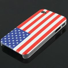 U.S. Flag Hard Cover Case for Apple iPhone 4G Phone [GDJMW-056] - $1.90 : egoodeal, online shopping for wholesale consumer electronics