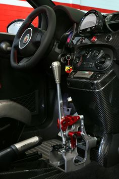 INTERNO#Abarth #695 #Biposto