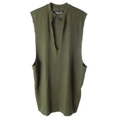 YEEZY BY KANYE WEST Thermal cotton tank