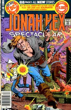 Jonah Hex Comic Book | Pencil Ink comic book artists blog 1950s 1960s 1970s 1980s : 05/26/13