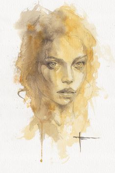 If you guys are into watercolor illustrations, make sure to check out this collection of over 30 amazing artworks by an artist coming from Germany – Mekhz. Watercolor Eyes, Watercolor Portraits, Watercolor Illustration, Watercolor Paintings, Watercolors, Art Through The Ages, Art For Art Sake, Portrait Art, Cool Artwork