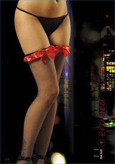 Erotica Kurdeleli Jartiyer Çorabı Fantazi Giyim