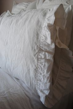 Standard Size Pillowcase-Talullah Linen Bedding Collection. $25.00, via Etsy.