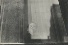 Boy, 1950 by Saul Leiter. Howard Greenberg Collection