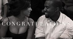 Congrats to Kim & Kanye for their baby girl