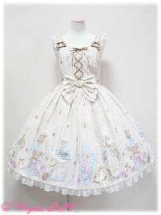 angelic pretty 涙のグラスボトルジャンパースカート                                                                                                                                                                                 もっと見る