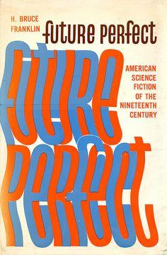Future Perfect book cover (1966) design by Ursula Suess