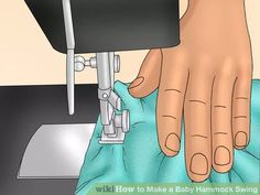 Image titled Make a Baby Hammock Swing Step 2