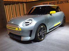 Mini Electric : les premières images et vidéo du concept avant Francfort