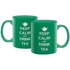 NMR Distribution Keep Calm Tea  mug $10.69