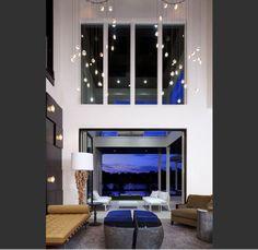 Lighting ideas for High Ceilings   Multi Level Lighting Application