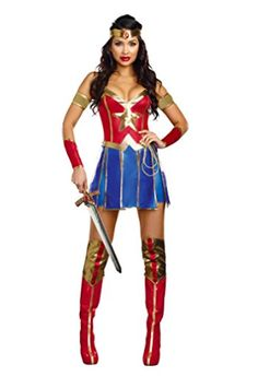 6d8699765e9a Beautiful, high-quality Wonder Woman costume for Halloween and superhero-themed  party.