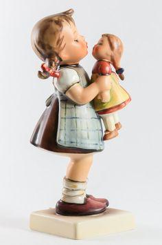 Kiss Me Hummel Girl Figurine TMK 5 Mold by EstateServicesKeitha, $75.00