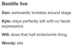 """Stays perfectly still with no facial expressions"" LMBO I AM LAUGHING BECAUSE IT IS TRUE"