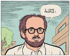 Graphic Novelist Dan Clowes
