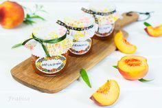 mermelada, melocotones How To Make Cheese, Pineapple, Easy Meals, Dairy, Fruit, Recipes, Ideas, Gastronomia, Peach Jam
