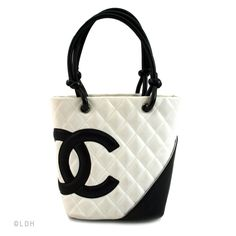 Chanel Black and White Cambon (Authentic Pre Owned)