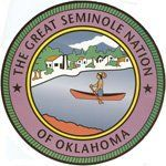 Seminole Nation of OK seal -- visit their website at  http://sno-nsn.gov/