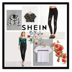 """""""SHEIN  6/ 8"""" by fatimazbanic ❤ liked on Polyvore"""