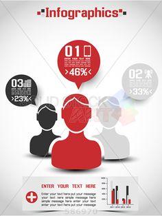 stock illustration of infographics demographics people ranking 2