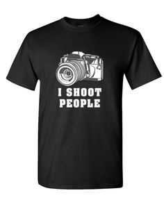 I Shoot People men's t-shirt -- Stocking Stuffers for Men Christmas gift ideas.png