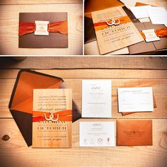 Rustic Country Wedding Invites  Horseshoes  DeAnna Pappas wedding