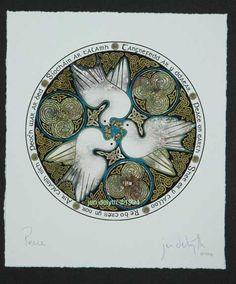 Celtic Doves - by artist Jen Delyth - http://www.celticartstudio.com/Pages/SDovesPt.html