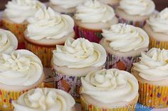 Seriously, THE best frosting EVER! Not sickeningly sweet like buttercream. So good!