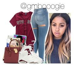 """Untitled #24"" by gmboogie ❤ liked on Polyvore featuring Stussy and NIKE"