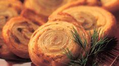 Janssoninkiekot   Leivonnaiset   Yhteishyvä Stuffed Mushrooms, Bread, Vegetables, Recipes, Food, Stuff Mushrooms, Brot, Essen, Eten
