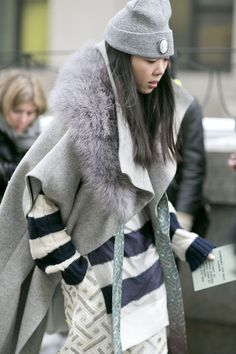 Susie Bubble layers up at New York Fashion Week #streetstyle 16 / 97