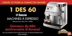 Regardez le concours du 60e anniversaire d'Aurora!