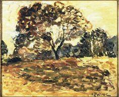 Henri Matisse - Landscape of Corsica, 1898. Oil on canvas. Musée des Beaux Arts, Bordeaux, France