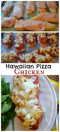 Hawaiian Pizza Chicken