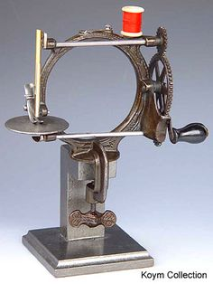 1880s Fairy Sewing Machine