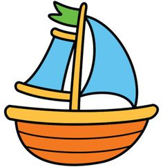 Alina V Design and Resources Drawing Pics, Ship Drawing, Easy Drawings, Boat Cartoon, Summer Signs, Blowing Bubbles, Diy Crafts For Gifts, Png Format, Classroom Themes