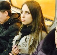 meanwhile on subway …