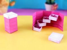Make an Easy and Useful Origami Stepper Box