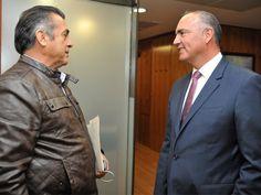 Se reúnen titular de la SAGARPA y gobernador de Nuevo León