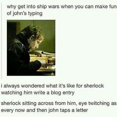 #Sherlock #Funny #John