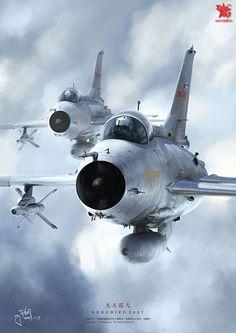Double trouble MiG-21's . . .