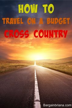 how to travel on a budget :: When you travel on a budget, you have to get a little creative. Here are some ideas to make the trip cost efficient.