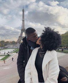 Black Love Couples, Cute Couples, Paris Couple, Black Families, Couple Aesthetic, Photo Black, Travel Aesthetic, Best Couple, Travel Couple